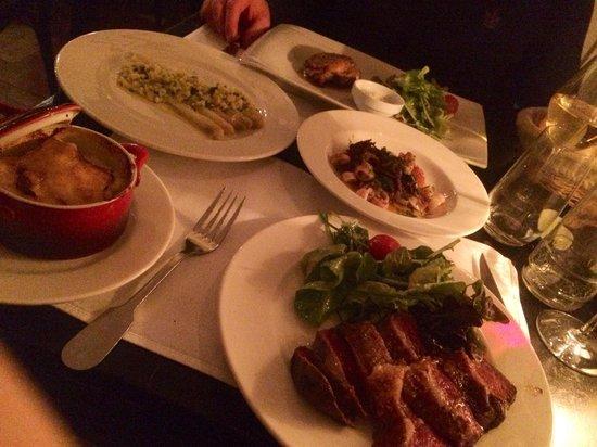 Le Wine Bar des Marolles : Dinner for 2 😳