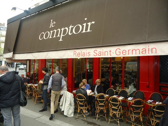 le comptoir picture of le comptoir du relais paris tripadvisor. Black Bedroom Furniture Sets. Home Design Ideas