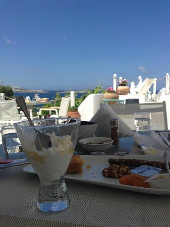 Omiros Hotel : Best greek yogurt