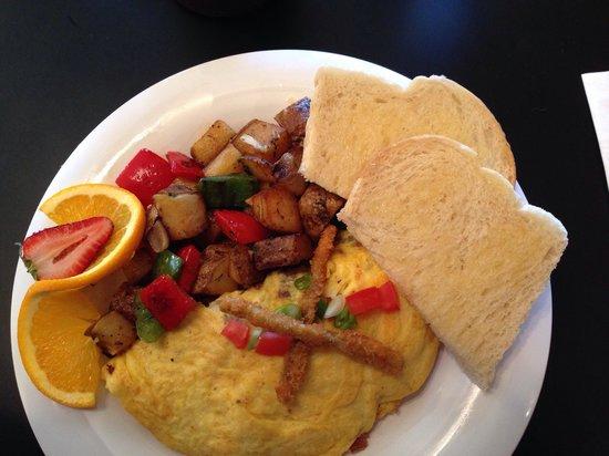 I'd Eat There : PBJ omelette