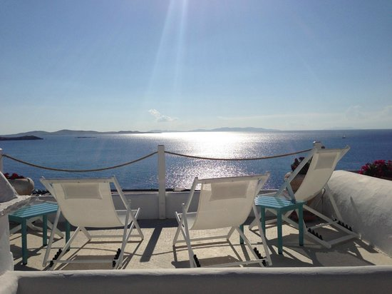 Omiros Hotel: Terrace