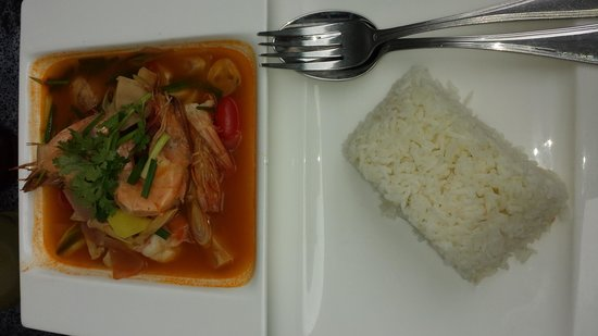 The KEE Resort & Spa: Tom Yam Goong from The KEE Kitchen