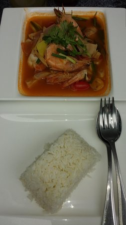 The KEE Resort & Spa : Tom Yam Goong from The KEE Kitchen