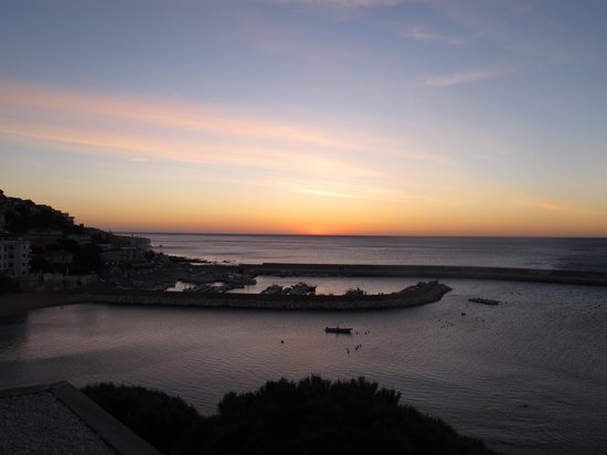 Hotel Cala Luna: Lever de soleil du toit terrasse