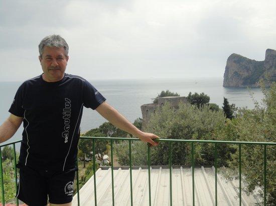 Torre Turbolo Appartamenti: la vista appena usci dal villino......