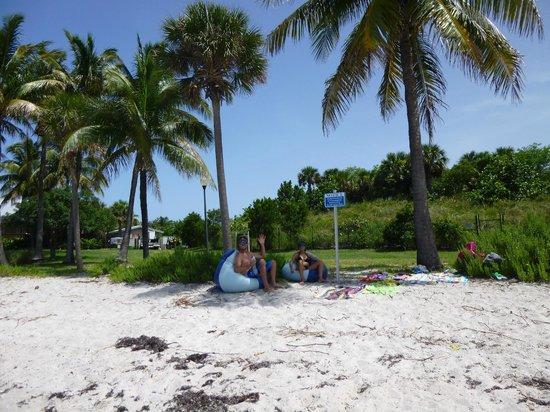 Peanut Island Park : Curtindo a ilha