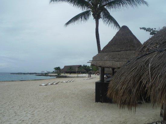 Chankanaab Beach Adventure Park: beach huts