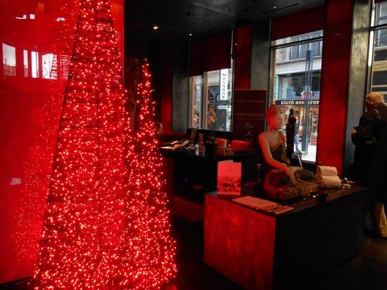 Buddha-Bar Hotel Budapest Klotild Palace: More darkness