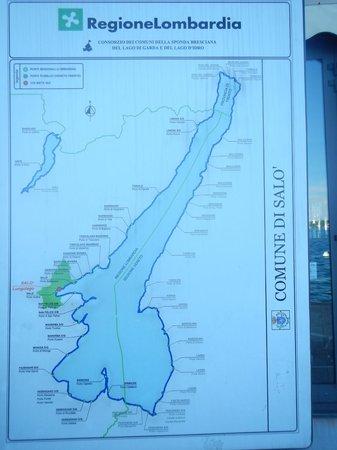 Lago di Garda: Mapa