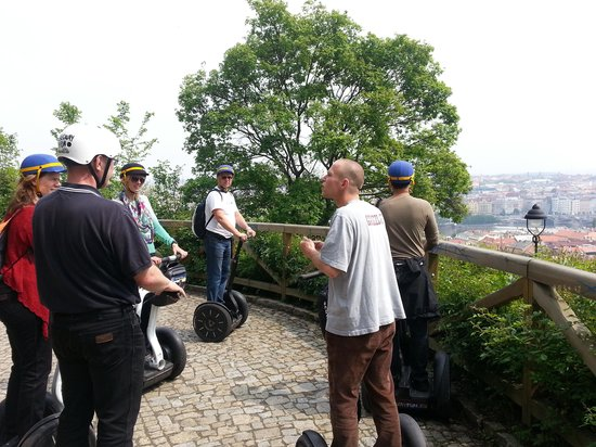 SEGWAY EXPERIENCE: Segway and E-Scooter Tours: Honza, our Guide (Great)!