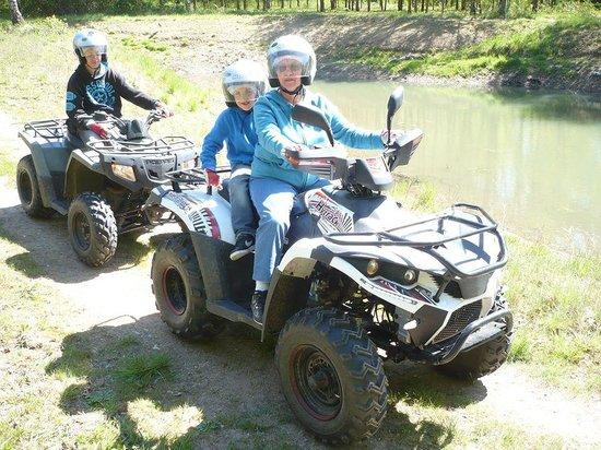 Loisirs Loire Valley : Rando en quad en famille