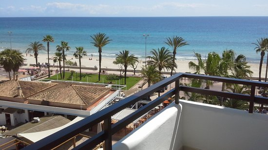 SENTIDO Playa del Moro: view froom my room