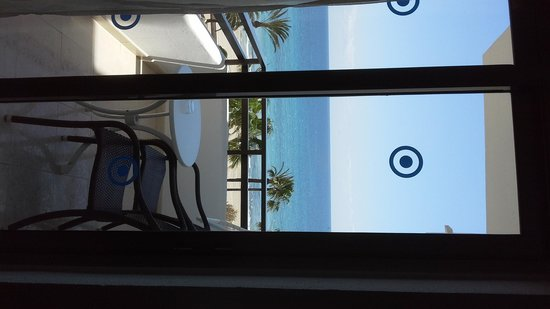 SENTIDO Playa del Moro: looking out froom room