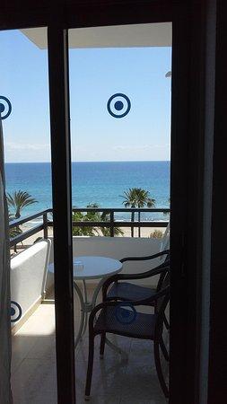 SENTIDO Playa del Moro: looking out froom room
