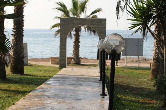Simos Magic Beach Hotel Apartments: Nice view
