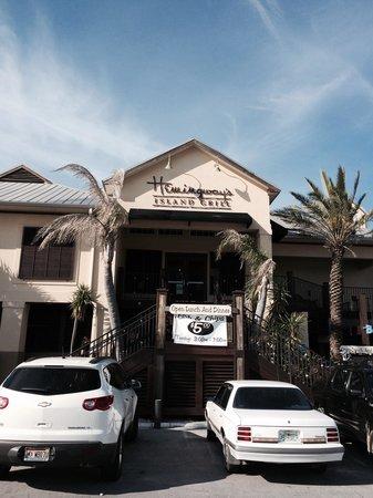 Hemingway's Island Grill: Great food