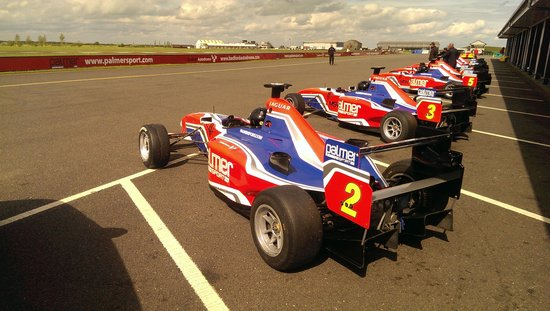 PalmerSport: The formula cars depart for the track