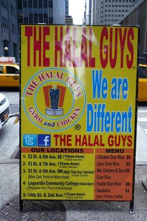 The Halal Guys: Menù,prezzi e orari.