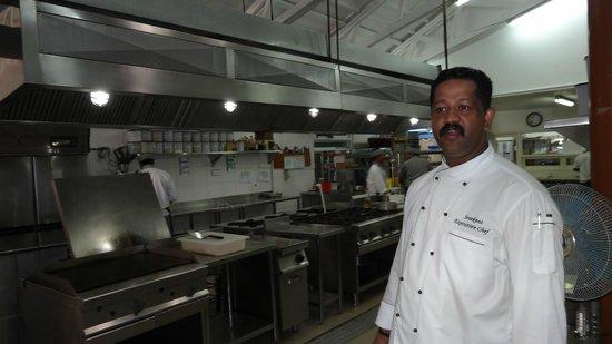 Reethi Beach Resort: les cuisines et le Chef