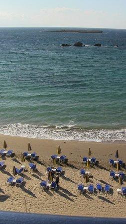 Danaos Hotel: panorama dal terrazzo dell'hotel