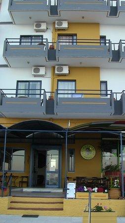 Danaos Hotel: entrata hotel