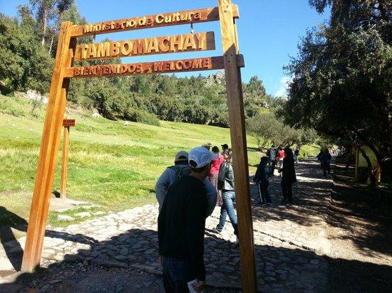 Tambomachay: Entrada do templo