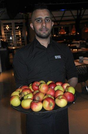 De Kas : apples
