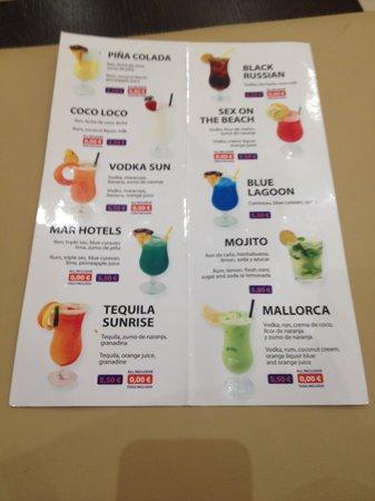 Hotel Condesa de la Bahia: Cocktails