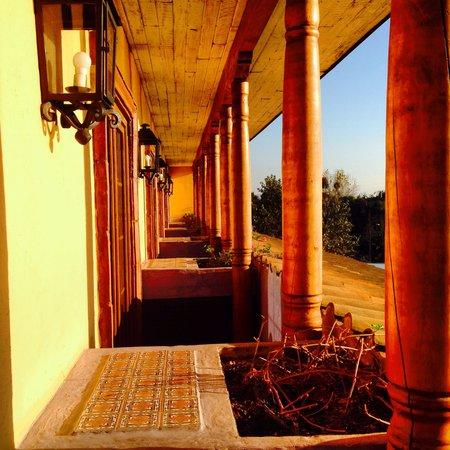 Hotel Santa Cruz: Vista de la habitación