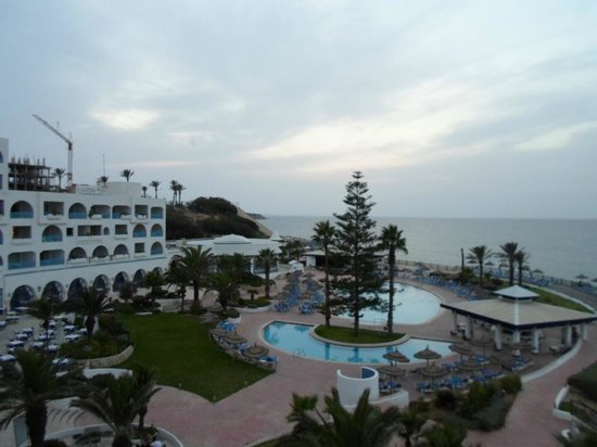 Regency Hotel and Spa : le soleil se couche sur le regency