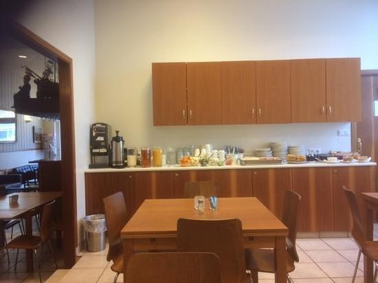 Hotel Vik Arctic Comfort: salle du petit dejeuner
