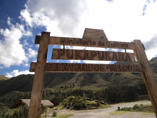 Puka Pukara: Entrada