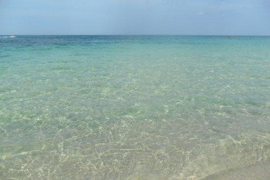 Marhaba Palace Hotel : Lovely clear blue sea