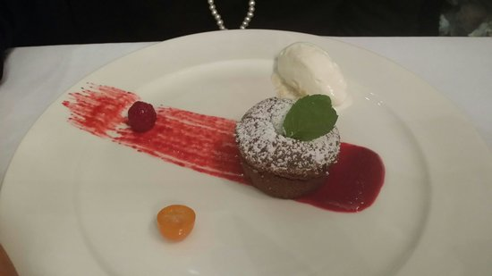 Amarylis Restaurant : Fondant