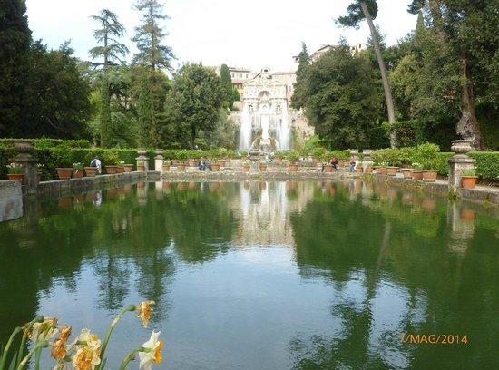 Villa d'Este : Vista panoramica