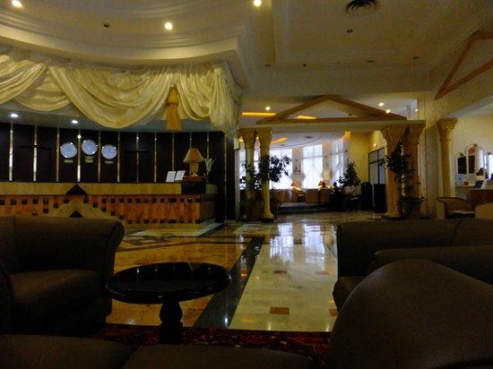 El Hana Palace Caruso Hotel : hotel hall