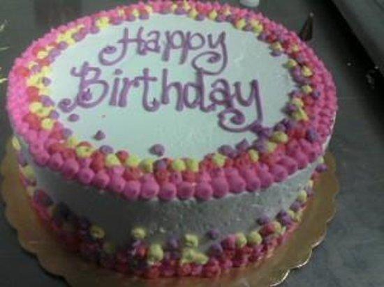 Coldstone Creamery Birthday Cake