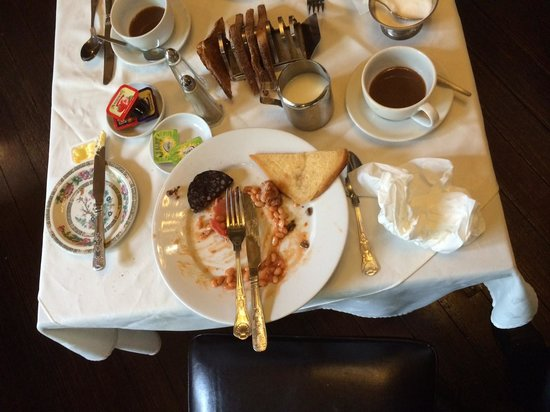 Rosehill House Hotel: Small Breakfast Table