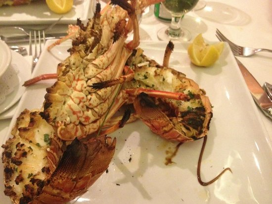 Bistrot Caraibes : lobster thermidor