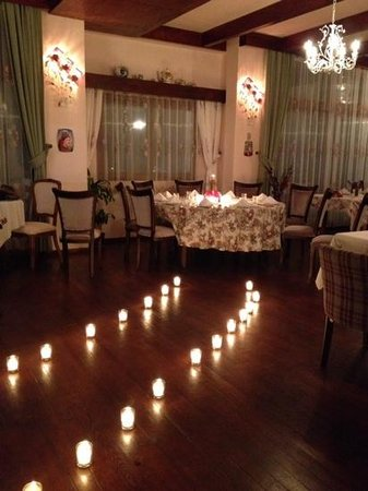 Kalina Kafe: Romantic dinner