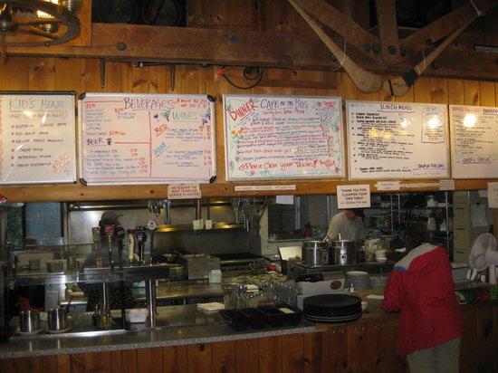 Order Desk Picture Of June Bug Cafe Midpines Tripadvisor