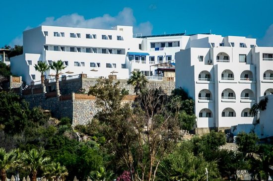 Dolce Bodrum Hotel and Beach club: View of Hotel Dolce from beach
