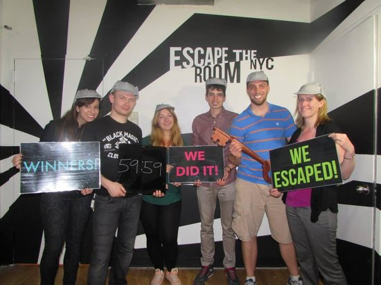 We escaped the home picture of escape the room nyc new for Escape room equipment