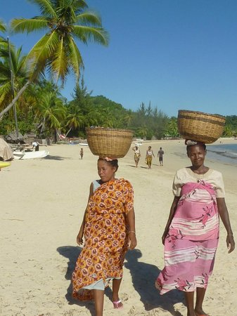 Nosy Lodge: Femmes de Nosy Be