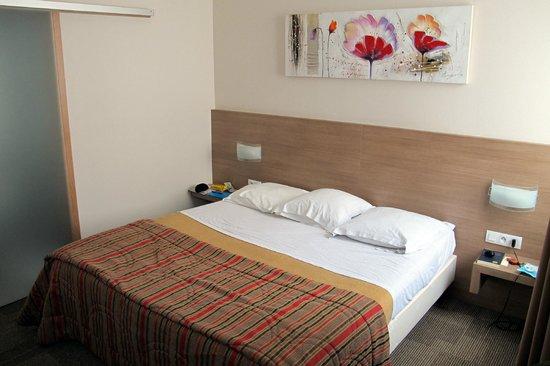 Hotel Vendome: Camera spaziosa e confortevole. Da rivedere la porta del bagno!!