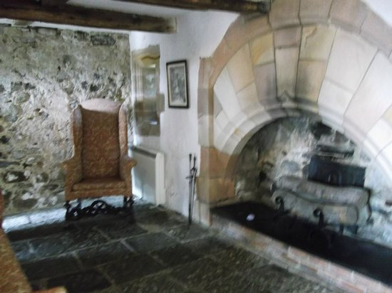 Interior of the castle keep - Picture of Lindisfarne ...