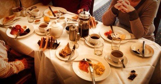 Cuilcheanna House: Last breakfast