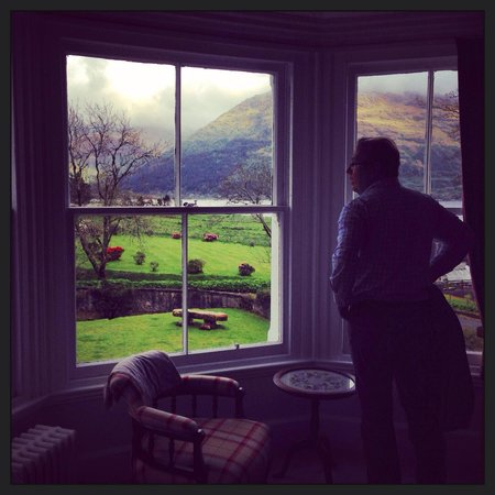 Cuilcheanna House: View from the Mull room