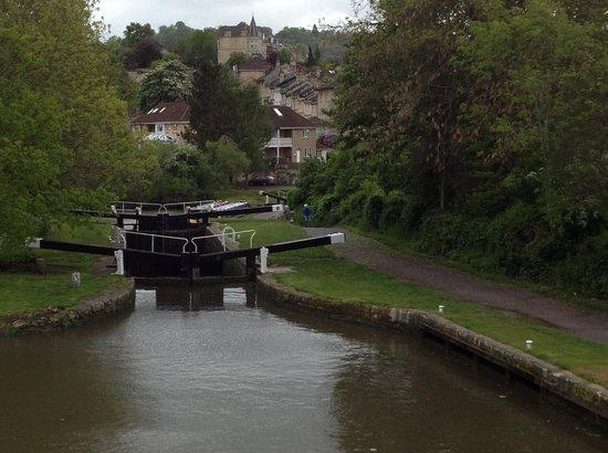Bath Locks near Widcombe