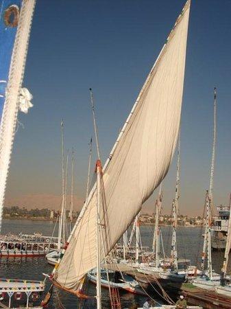 Maritim Jolie Ville Kings Island Luxor: Luxor harbour